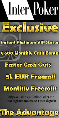 OnlinePoker.me Exclusive Deal with InterPoker