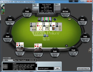 Interpoker Poker Table