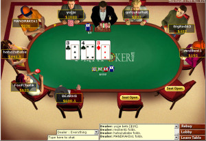 Party Poker Online Poker Table