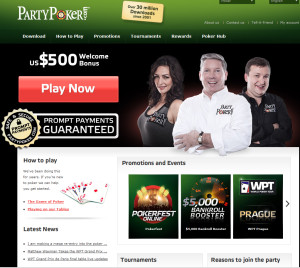 Party Poker Online Poker Website