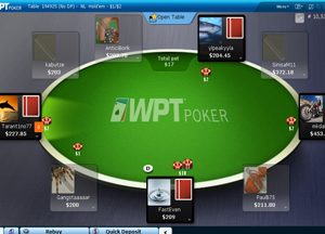 Online Poker World Poker Tour Table